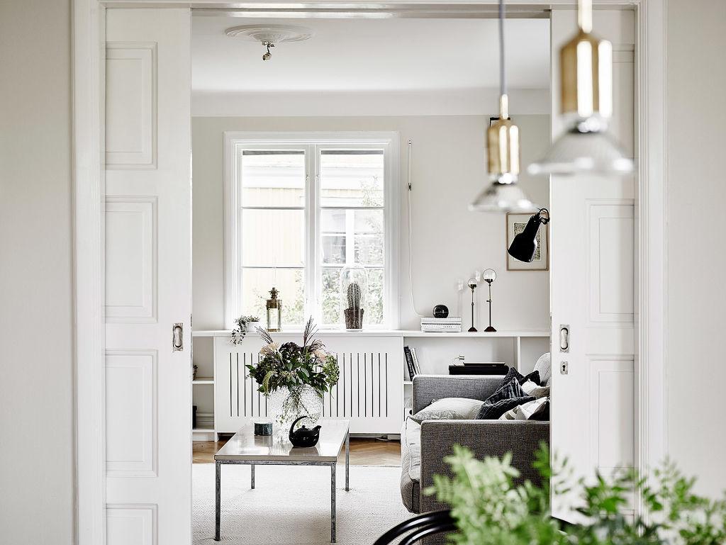 Elegantes puertas correderas dobles de paso al sal n - Blog decoracion interiores ...