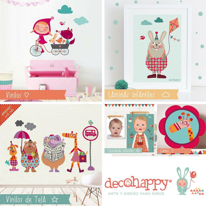 Vinilos Infantiles Decohappy.Decohappy Vinilos Infantiles Y Decorativos Blog Tienda