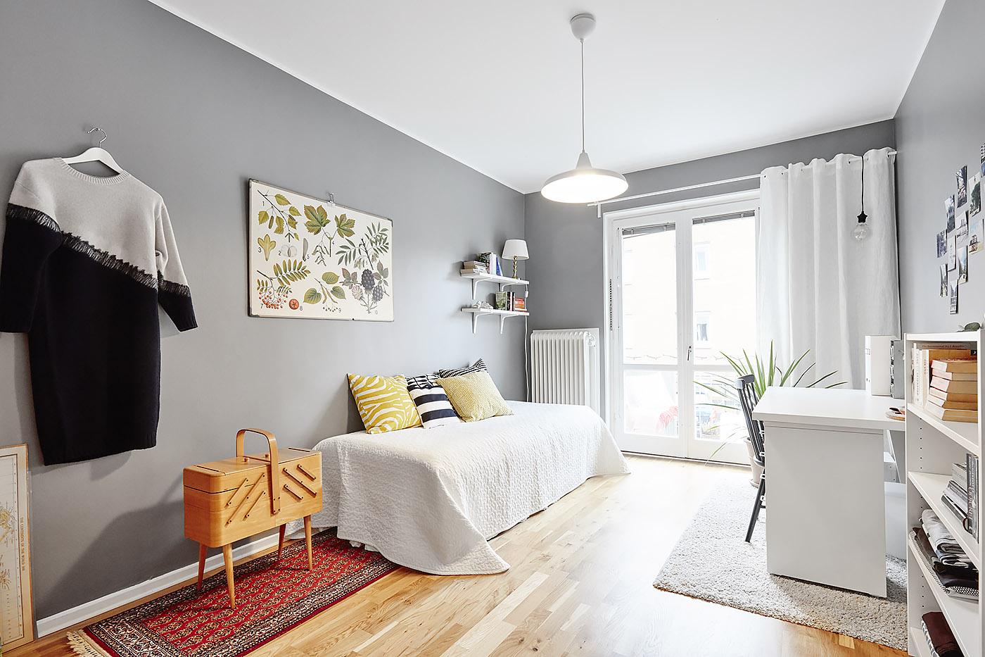 Habitaciones juveniles de estilo n rdico blog tienda - Diseno de habitacion juvenil ...