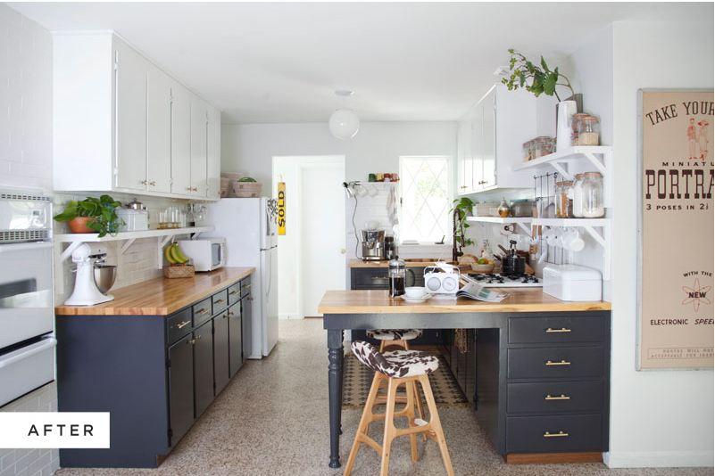 Antes/Después – Cocina nueva con pintura - Blog tienda decoración ...
