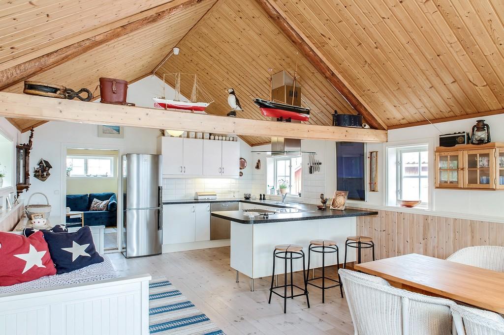 Las casas de vacaciones junto al mar que encantan a los - Casas de madera nordicas ...