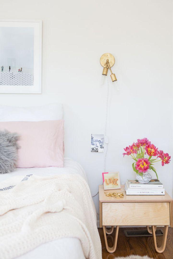 Renovar el dormitorio fácilmente estilo nórdico estilo femenino diy decoración decoracion dormitorios decoracion diseño interiores blog decoracion interiores antes después decoración