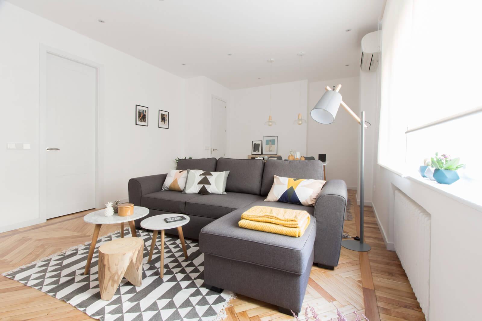 Piso de alquiler de estilo n rdico en chamber madrid - Como decorar un piso ...