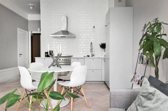 piso individual estilo nórdico decoración pisos pequeños decoración nórdica decoración en grises madera natural decoracion dormitorios blog decoracion interiores Apartamento individual bien aprovechado