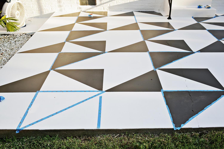 Diy pinta el suelo de tu terraza blog tienda - Pintura suelo exterior ...