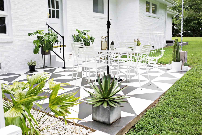 Diy pinta el suelo de tu terraza blog tienda for Cambiar el suelo de un piso