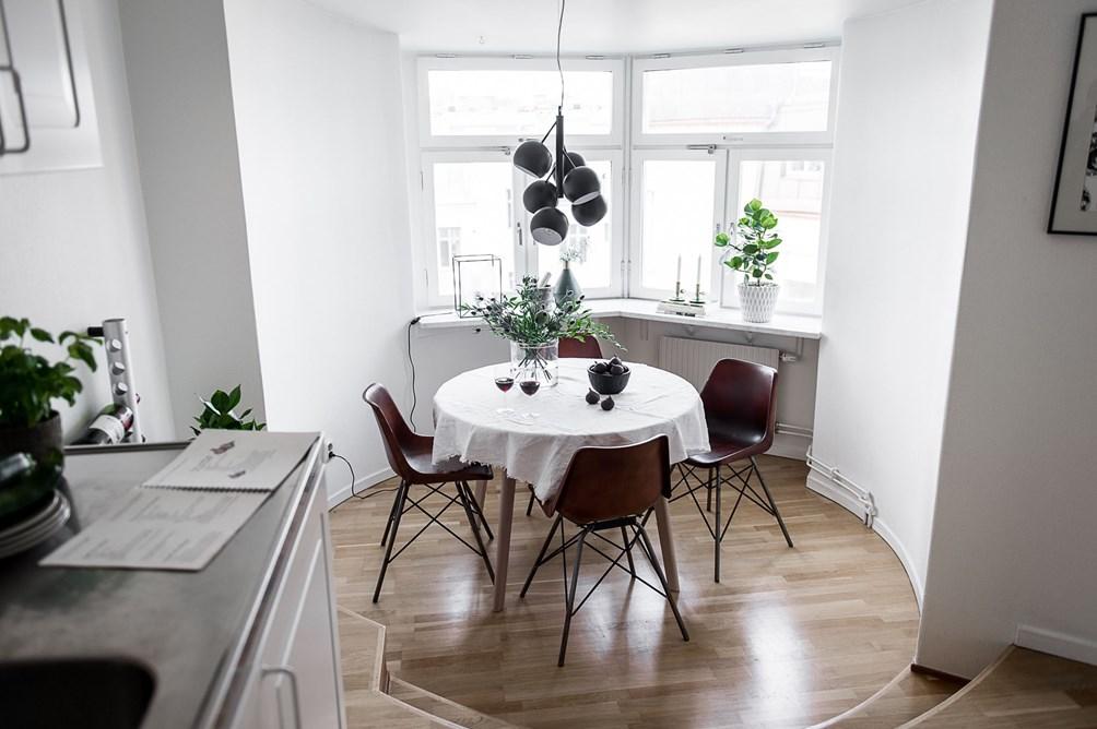 Comedor de planta circular - Blog tienda decoración estilo ...