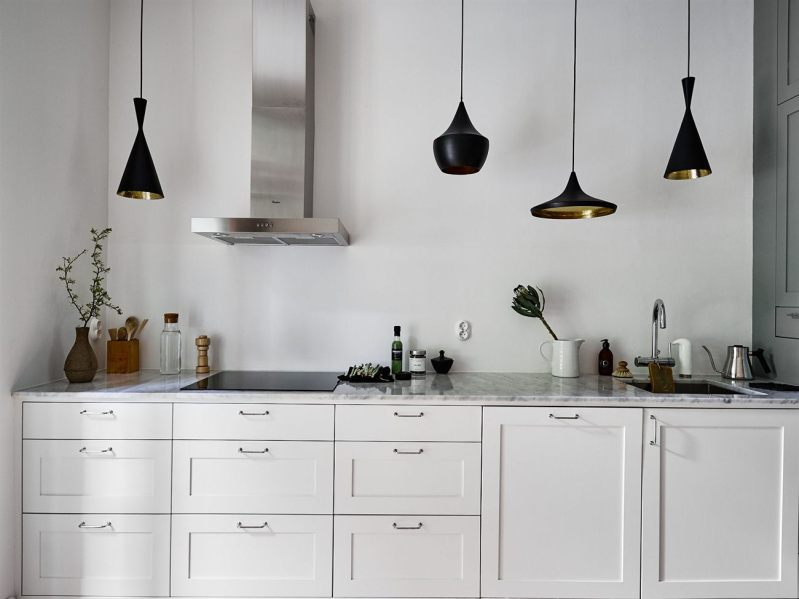 Lámparas colgantes sobre la encimera - Blog tienda decoración estilo ...