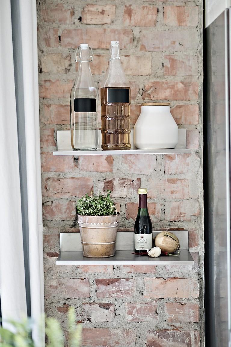 Cocina abierta en un piso peque o blog tienda decoraci n for Decoracion piso mini