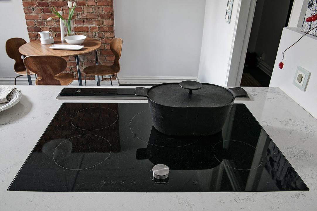 Cocinas con muebles empotrados for Muebles de cocina con