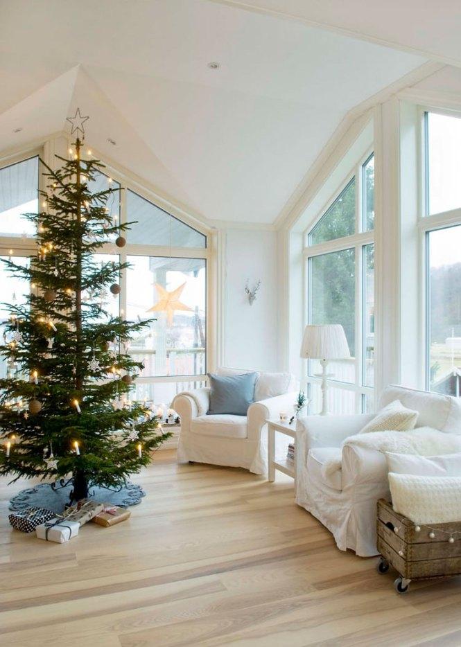 Navidad en la mesa mesas de navidad estilo escandinavo decoración navideña decoración en blanco blog decoración nórdica