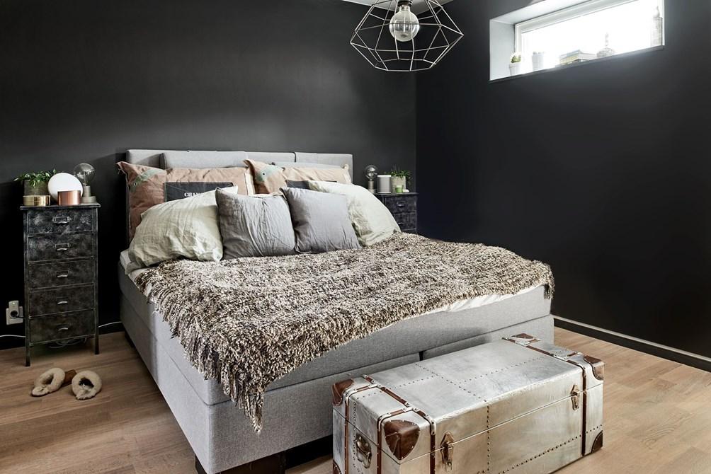 Paredes negras en todas las habitaciones blog tienda decoraci n estilo n rdico delikatissen - Blog decoracion de interiores ...