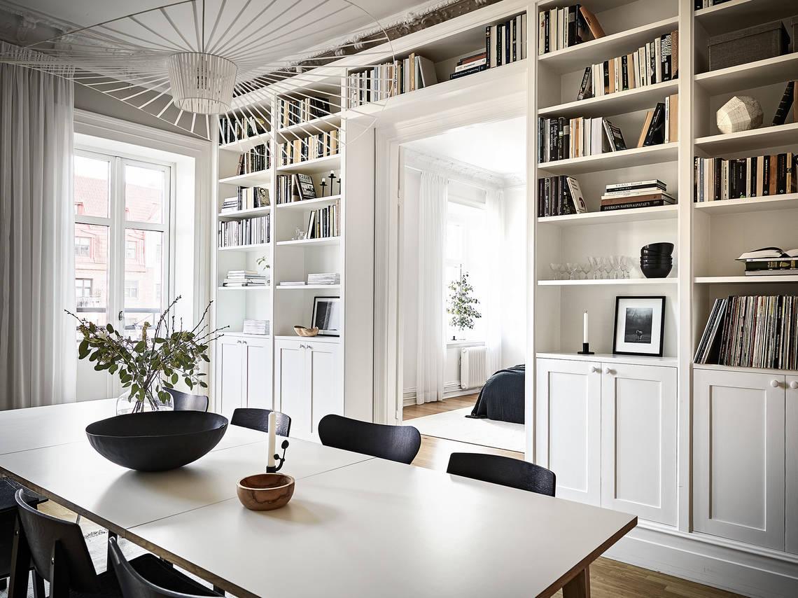 Librer as de suelo a techo blog tienda decoraci n estilo for Estanterias estilo escandinavo