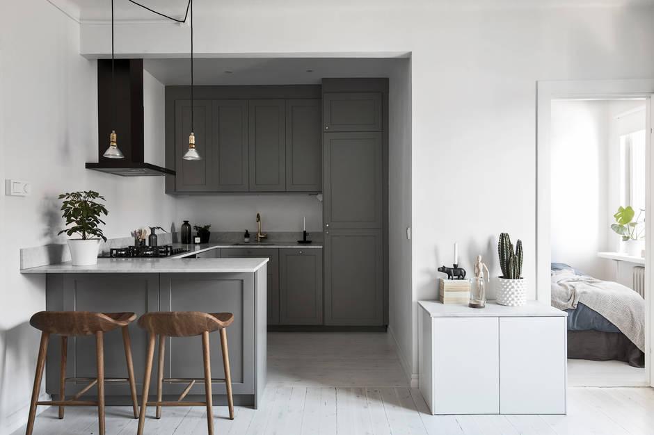 Alquiler de pisos peque os blog decoraci n estilo - Piso pequeno estilo nordico ...