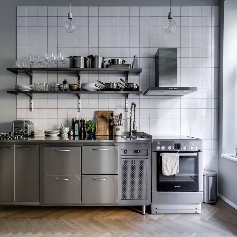 cocinas industriales - - Blog tienda decoración estilo ...