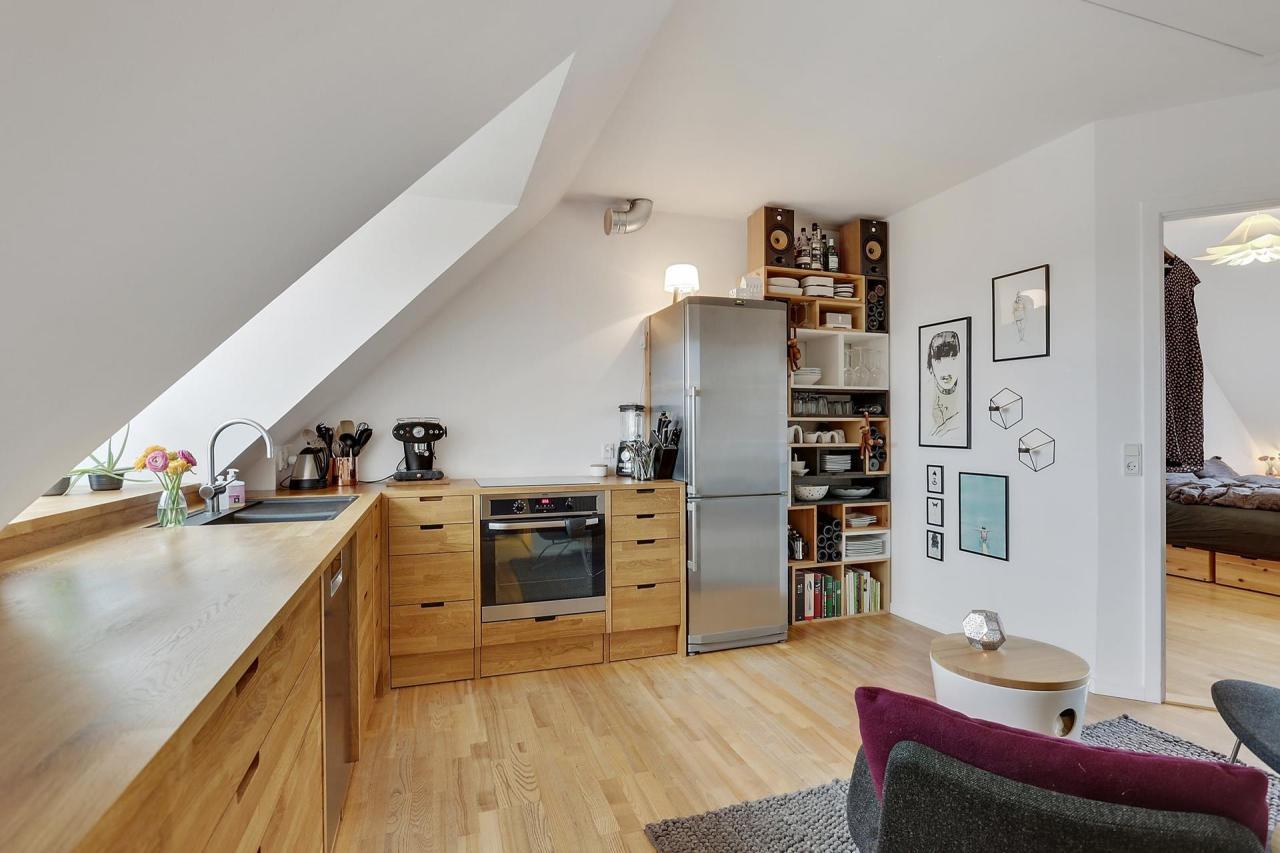Moderna cocina nórdica de madera de roble - Blog tienda ...