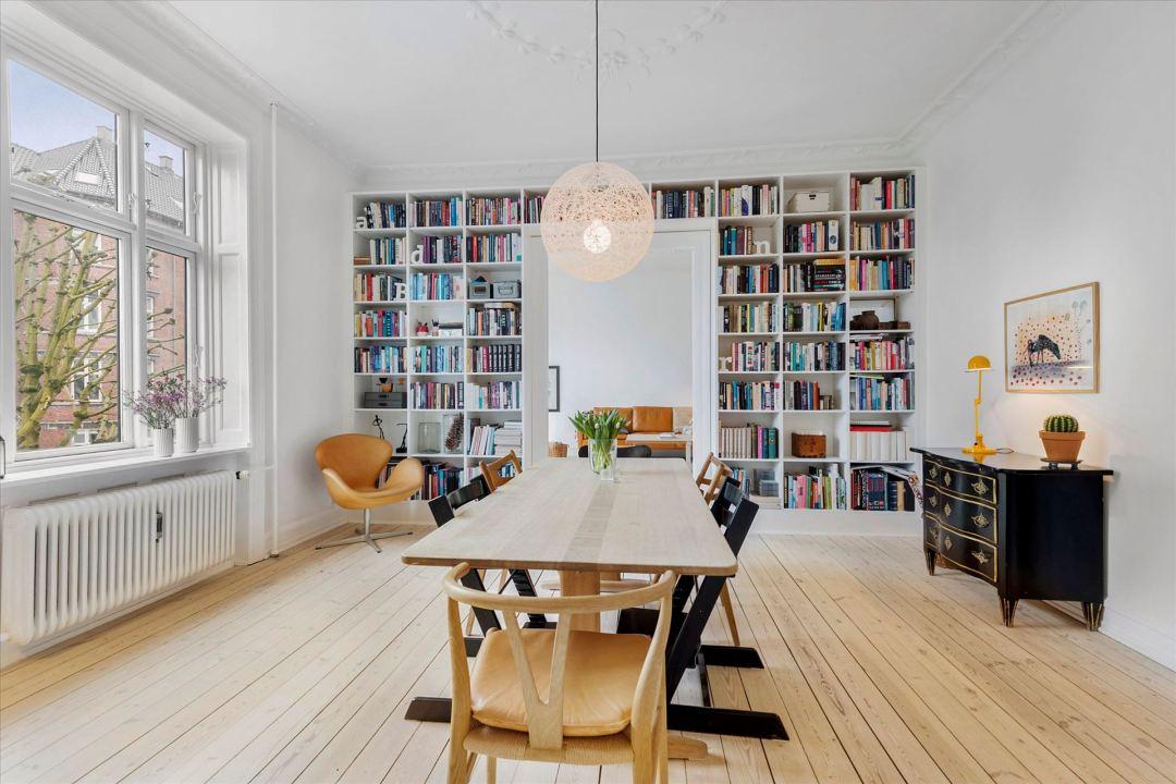Librer a de obra en el comedor blog decoraci n estilo n rdico delikatissen - Librerias para despacho decoracion ...