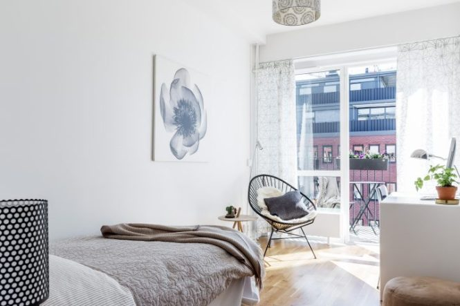salón nórdico piso sueco estilo escandinavo distribución abierta diáfano decoración nórdica cocina abierta blog decoracion interiores