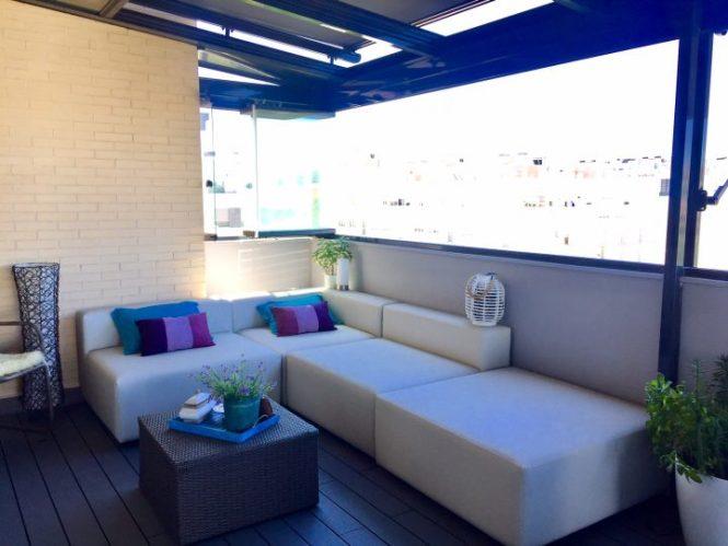 hogares de nuestros lectores estilo nórdico madrid estilo escandinavo españa diseño exteriores balcón decoración exterior decoración de interiores decoración balcón blog decoración nórdica antes-después