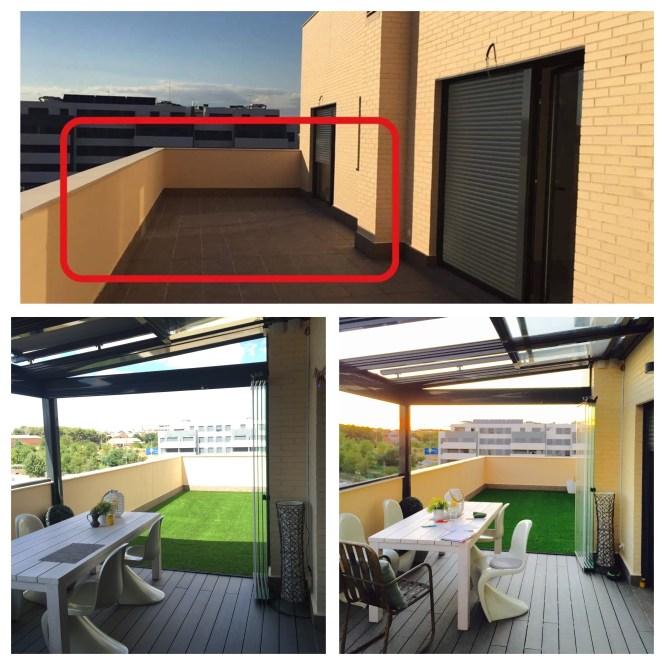 hogares de nuestros lectores estilo nórdico madrid estilo escandinavo españa diseño exteriores balcón decoración exterior decoración de interiores decoración balcón blog decoración nórdica antes después