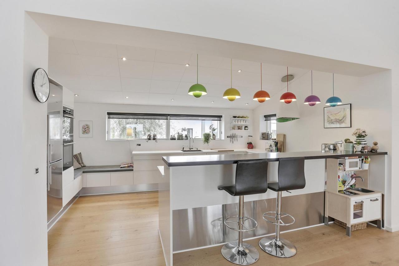 fotos de cocina blanca Toque De Color En Una Cocina Blanca Blog Tienda Decoracin