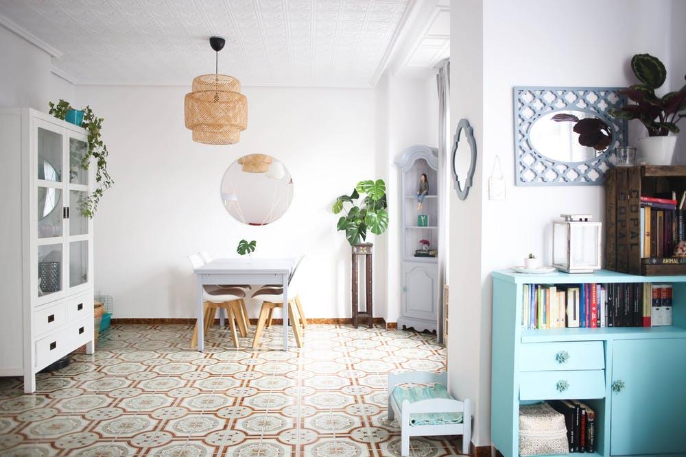 Luz y mediterr neo en este piso en valencia blog tienda for Muebles nordicos valencia