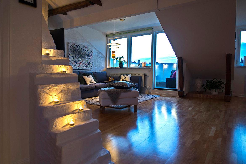 Acogedor ático con terraza - Blog tienda decoración estilo nórdico ...