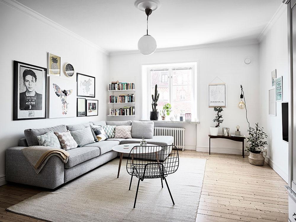 6 consejos para un sal n de estilo n rdico blog tienda - Estilo nordico decoracion ...