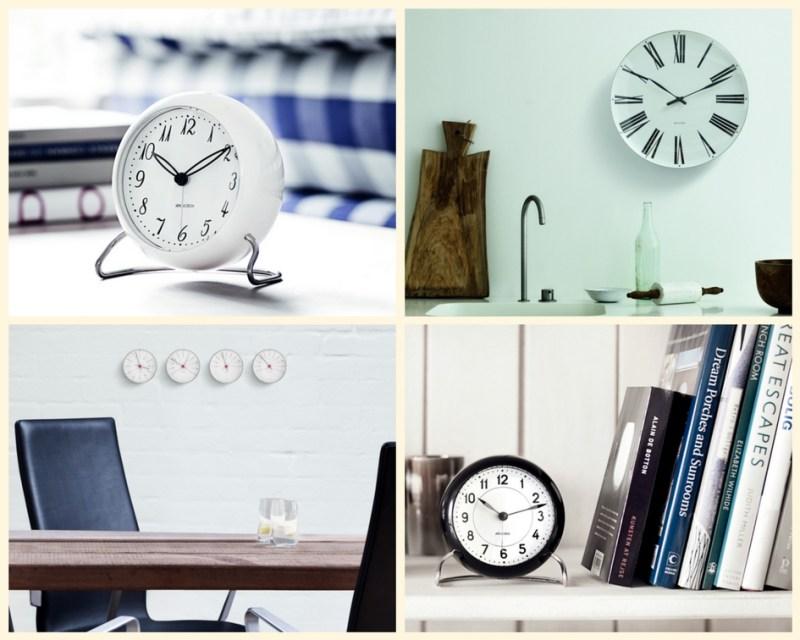 Rosendahl Copenhagen Relojes y despertadores Arne Jacobsen relojes de diseño estilo escandinavo diseño nórdico diseño escandinavo diseño danés artículos lujo accesorios hogar diseño