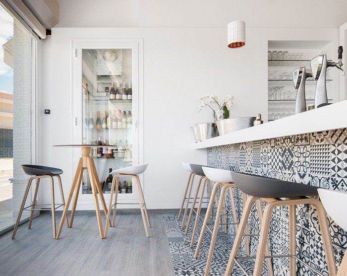 restaurante estilo nórdico La Zenia Lounge gastrobar de estilo escandinavo estilo nórdico estilo escandinavo decoración restaurantes decoración local comercial decoración bares