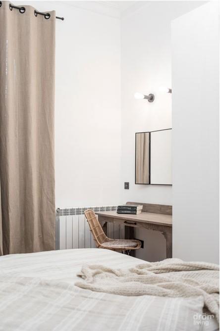 terraza primer piso moderna reforma piso barcelona piso reforma barcelona estilo nórdico estilo cálido diseño interiores diseño exteriores cuarto de baño morderno antes-después