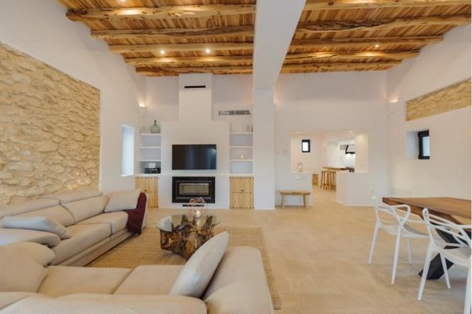 Villa de estilo mediterráneo en Ibiza
