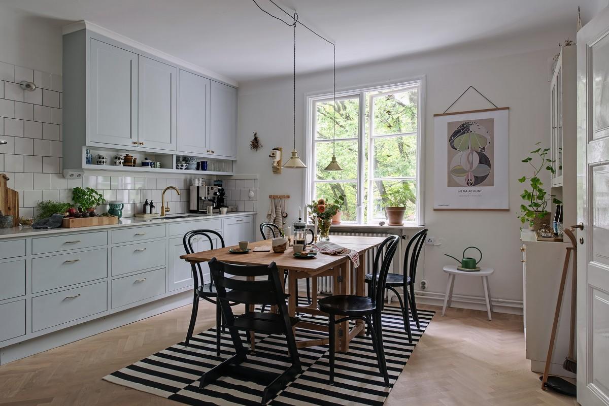 Decoración Cocinas Cocinas Nórdicas Cocinas Grandes Cocinas Escandinavas  Cocinas Con Office Cocinas Con Mesa Comedor Cocina