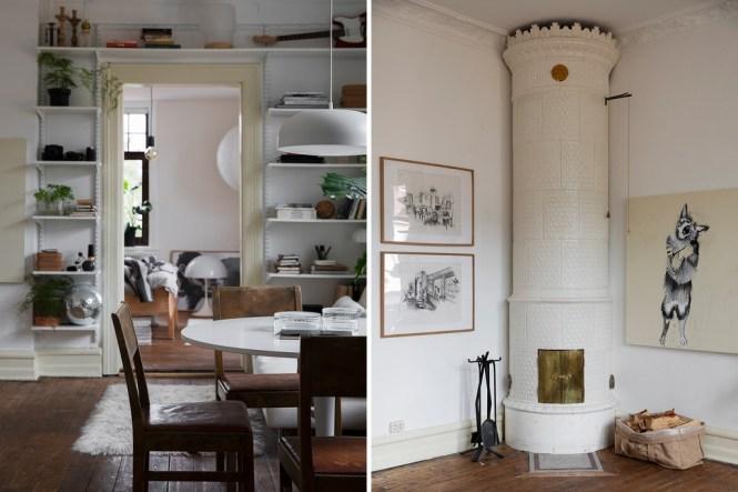 sofa blanco decoración escandinava decoración ecléctica decoracion con plantas