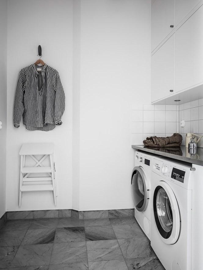 8 Consejos para una lavandería nórdica