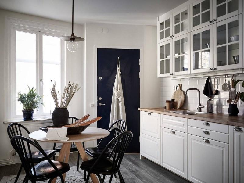 salón mesa redonda mesas redondas mesa de madera mesa de diseño mesa de comedor decoración comedores comedores mesas redondas comedor cocina cocina nórdica