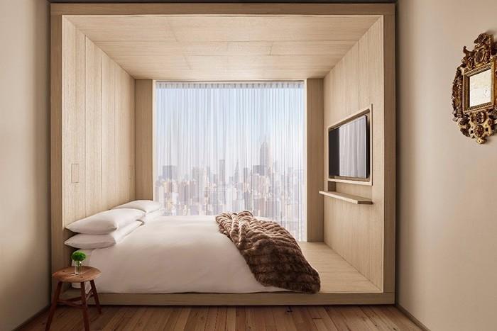 hoteles diseño nórdico hoteles diseño minimalista hoteles de diseño hotel nyc hotel new york city hotel minimalista hotel Lower East Side estilo escandinavo