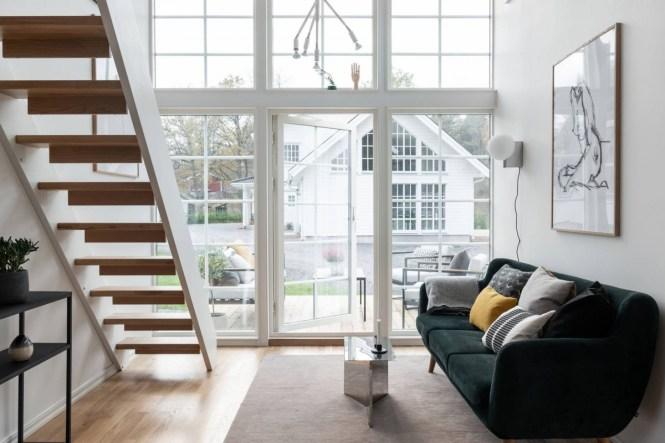 mini casa prefabricada estilo escandinavo vacaciones casas suecas de vacaciones casa sueca casa pequeña interior casa pequeña de madera casa de vacaciones