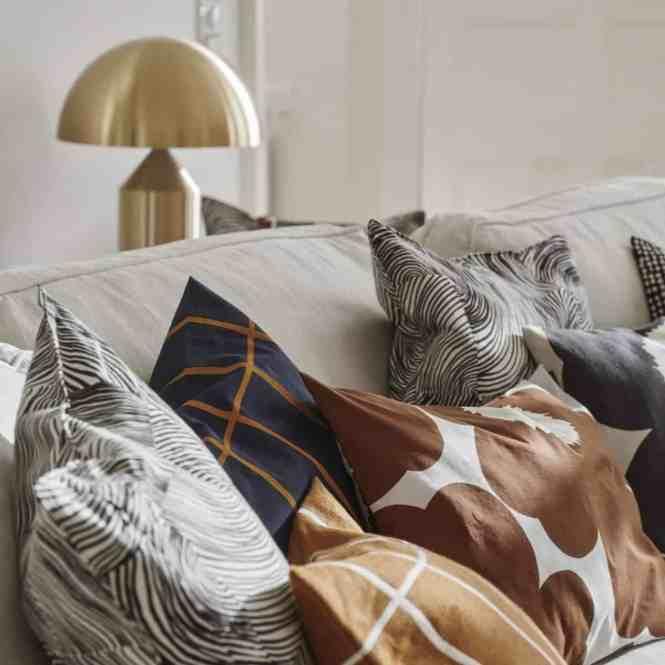 unikko diseño finlandes toallas textiles telas paños de cocina marimekko manteles hules fundas nórdicas diseño nórdico delantales