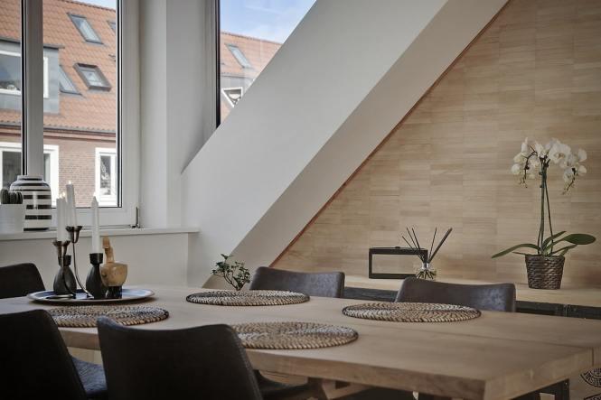 distribución diáfana distribución abierta diseño nórdico decoración áticos aticos decoración penthouse
