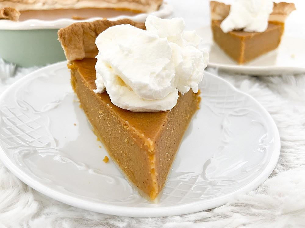 Southern sweet potato pie (pastel de batata o boniato)