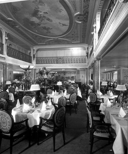 baRMS Aquitania First Class Lounge