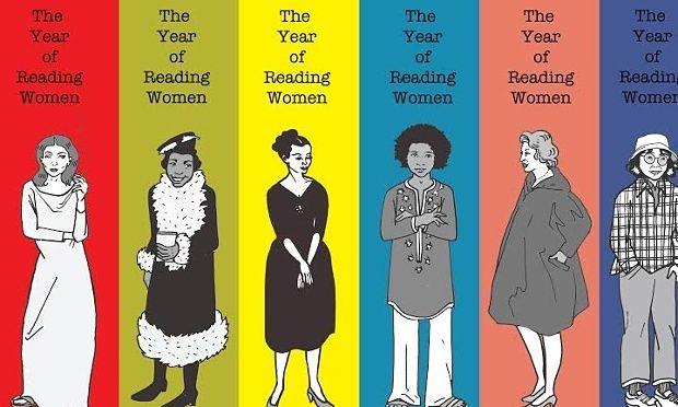 jcYear of Reading Women Postcard