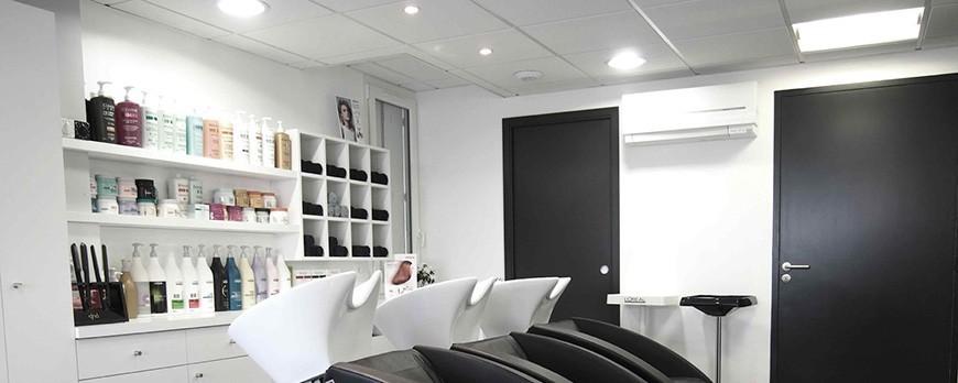 eclairage pour les salons de coiffure