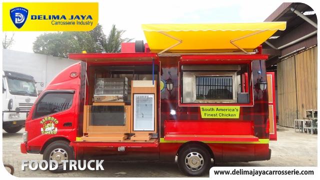 Food Truck Mobil Dapur Umum Lapangan Mobil Toko Food Trailer And Container