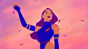 Pocahontas como Psylocke