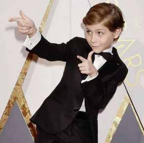 Jacob Tremblay nos bastidores do Oscar 2016