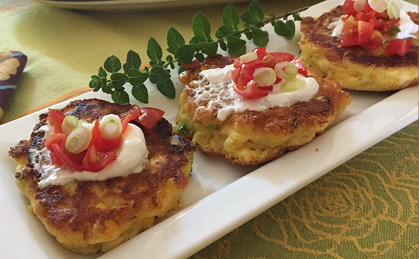 Getting Creative with Corn in these Squash Corn Fritters!