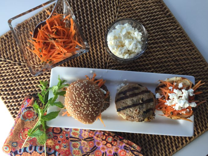 Just in Time for your Summer Barbecue, these Moroccan Sliders are Amazing!