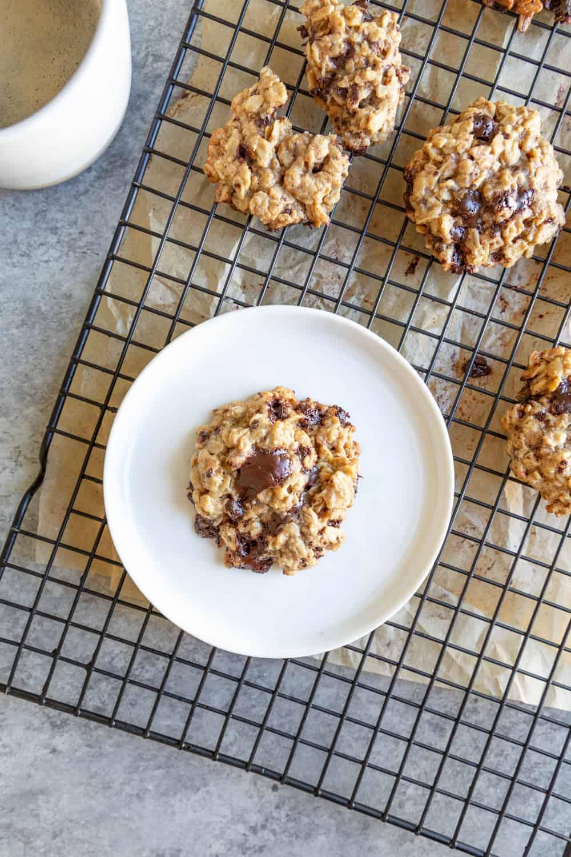 Tahini vegan cookies